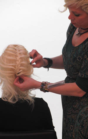Taller recogidos Hair UP Sabariz