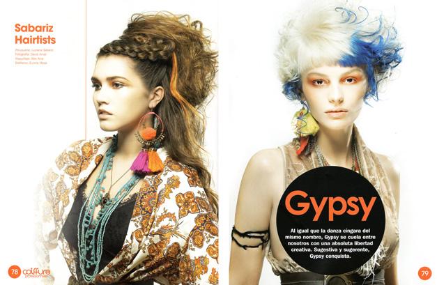 Colección Gypsy peluquería