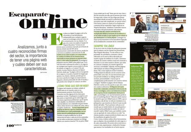 Revista de peluquería Estetica Modacabello