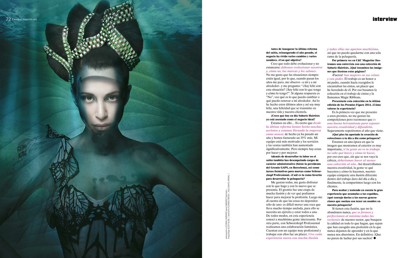 Entrevista C&C Magazine